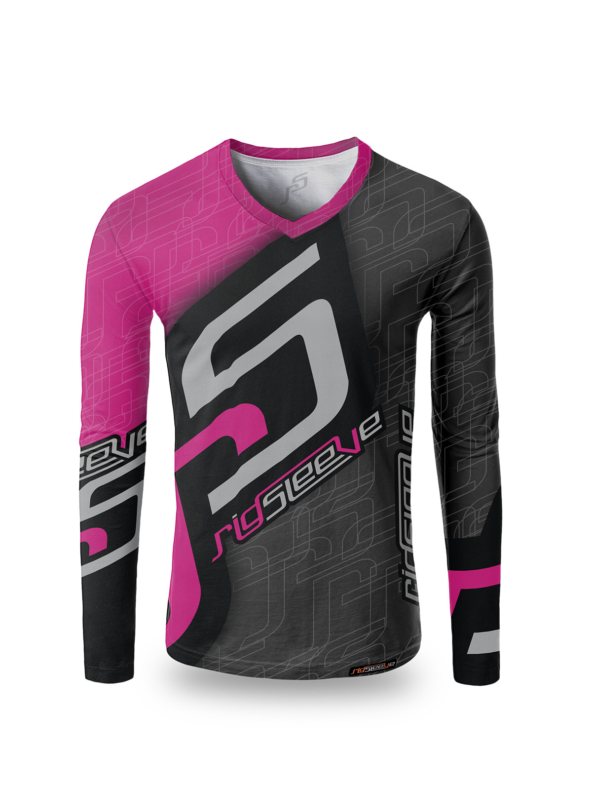 RigSleeve Pink Long Sleeve Jersey
