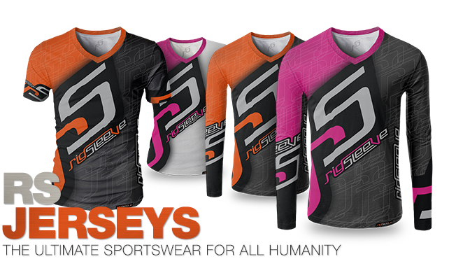 RigSleeve - RS jerseys - The ultimate sportswear for all humanity