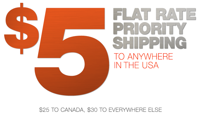 RigSleeve - $5 Flate Rate Priority Shipping to anywhere in the USA, $25 to Canada, $30 to everywhere else